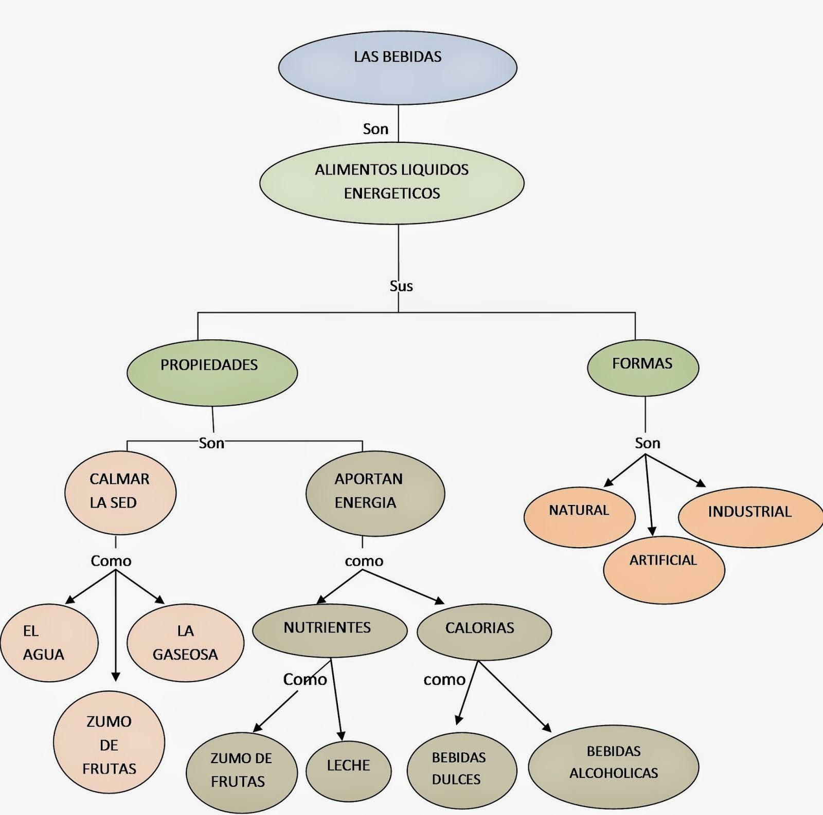 Mapas conceptuales - Como calcular las calorias de los alimentos que consumo ...