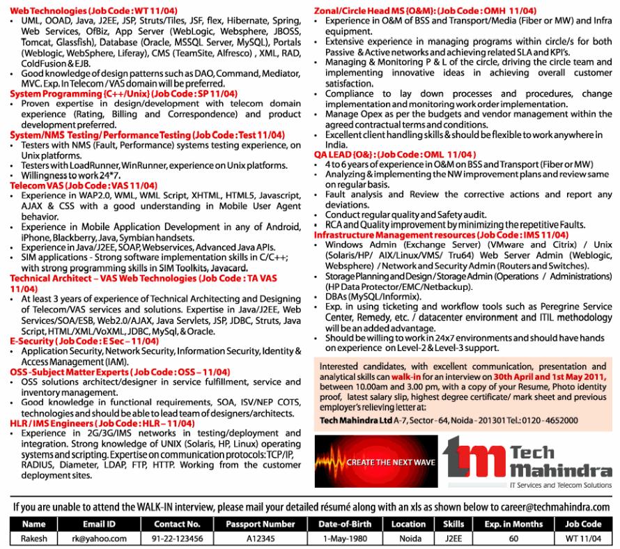 Tech Mahindra Noida Sector 64 A-7 Sector-64 Noida-201301