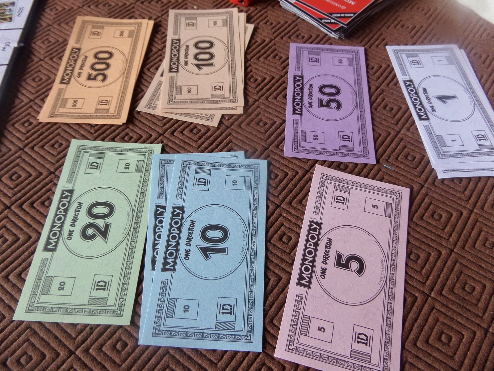monopoly cash rules