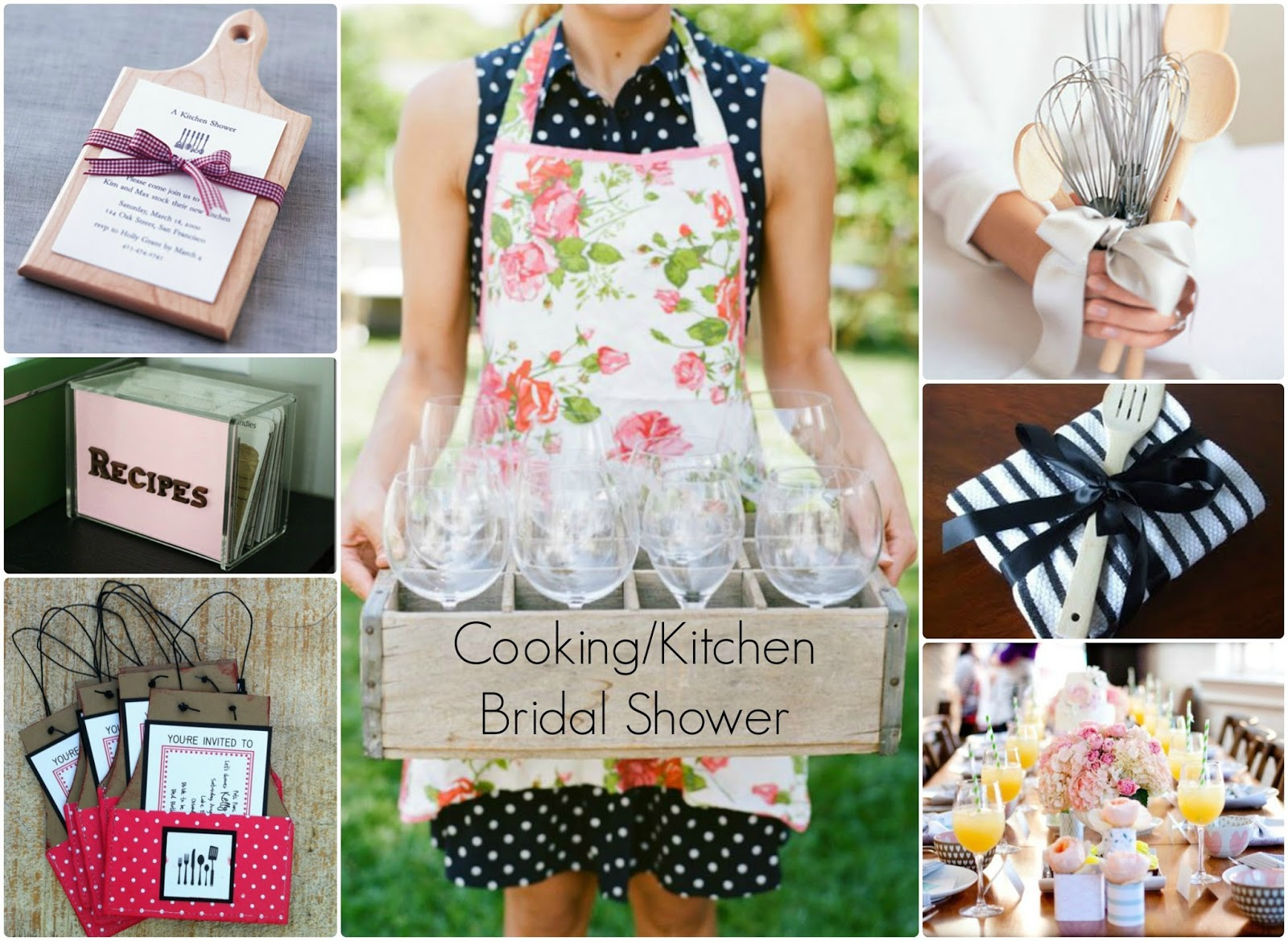 Kitchen themed showers for Bridal kitchen shower ideas