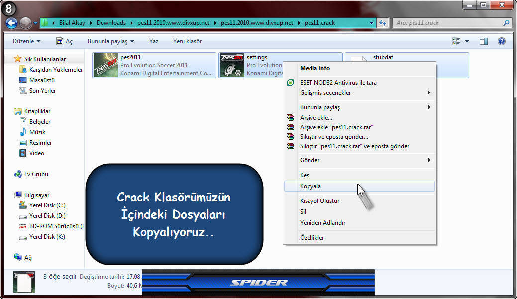 Отдых. PES 5 Crack Editing and Option Files. So i want to play pes5 again