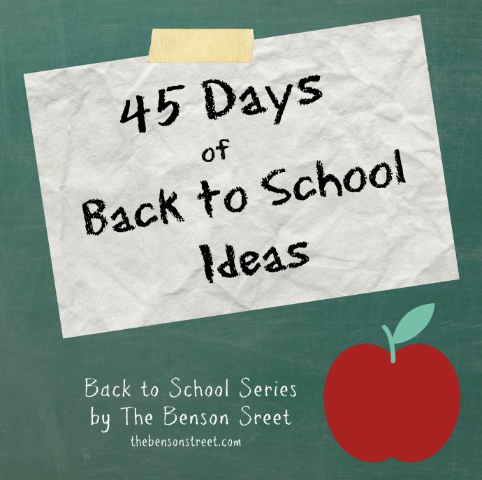 Lots of great ideas for Back 2 School