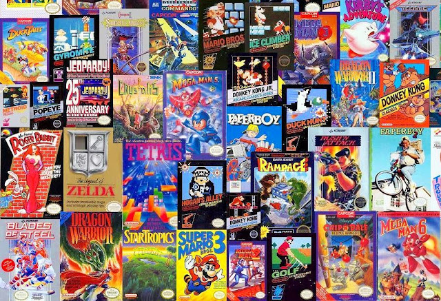 Imagen de varios juegos de la consola
