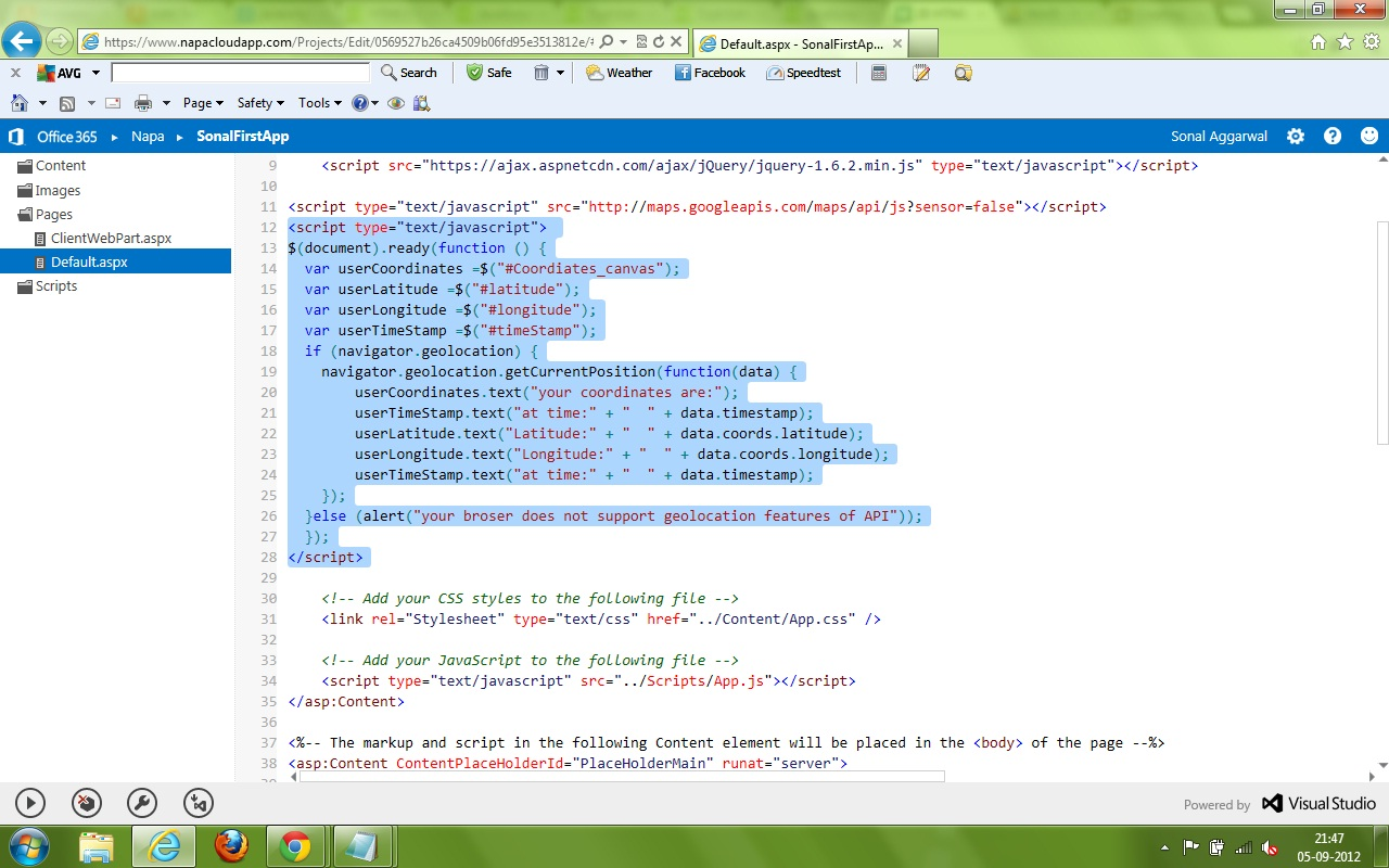 Visual Studio Not Building App Code Or Bin Output