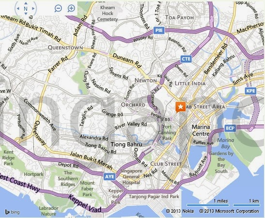 Detail The Escape Artist Singapore Location Map – Tourist Map Of Singapore City