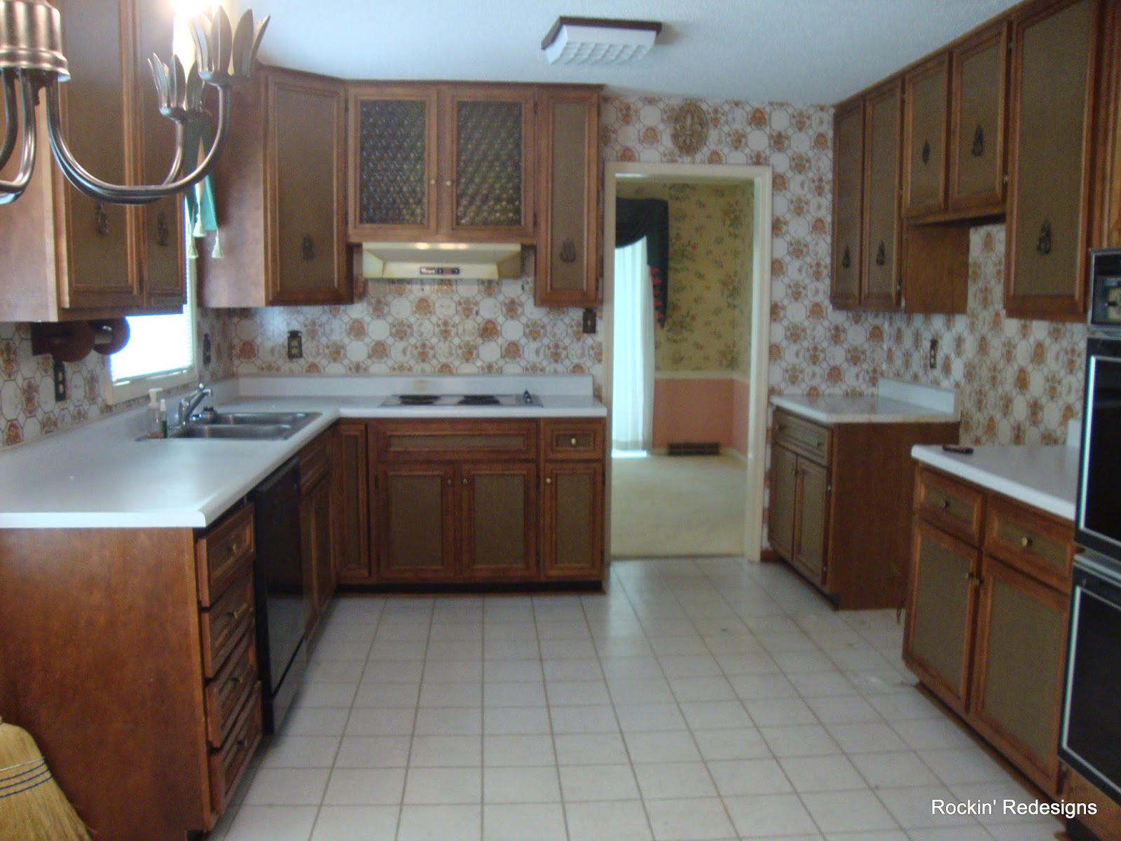 out of date kitchen renovation