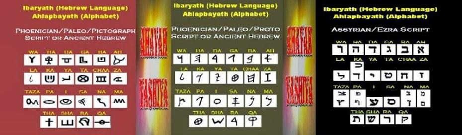 Ancient Phoenician Proto/Paleo/ Script/Ancient Hebrew/Assyrian/Ezra Scritp