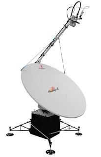 Многополосный VSAT терминал серии HAWKEYE™ III