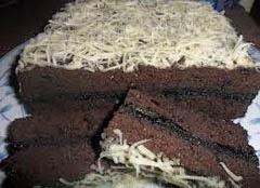 Resep makanan / kue brownies coklat keju