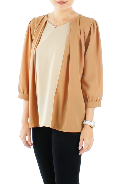 Beautiful Butterfly Blouse with ¾ Sleeves