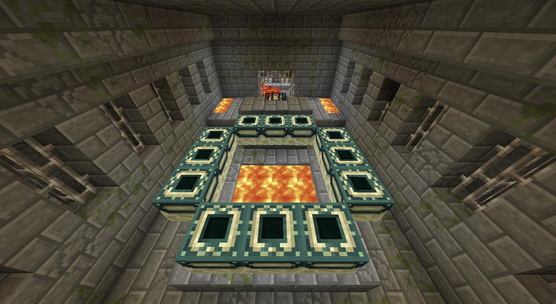 Как построить в Майнкрафт портал в энд (край)