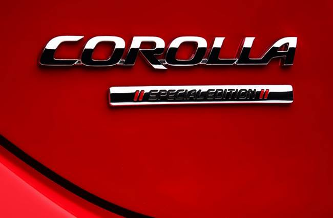 2016 Toyota Corolla Special Edition Release Date Uk