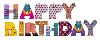 Happy Birthday with Letters, part 1