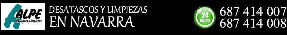 DESATASCOS EN PAMPLONA Y NAVARRA - DESCIEGUES - VACIADO DE FOSAS SÉPTICAS