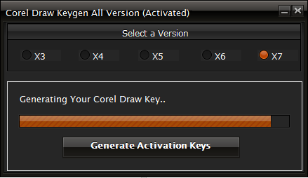 corel x7 activation code crack