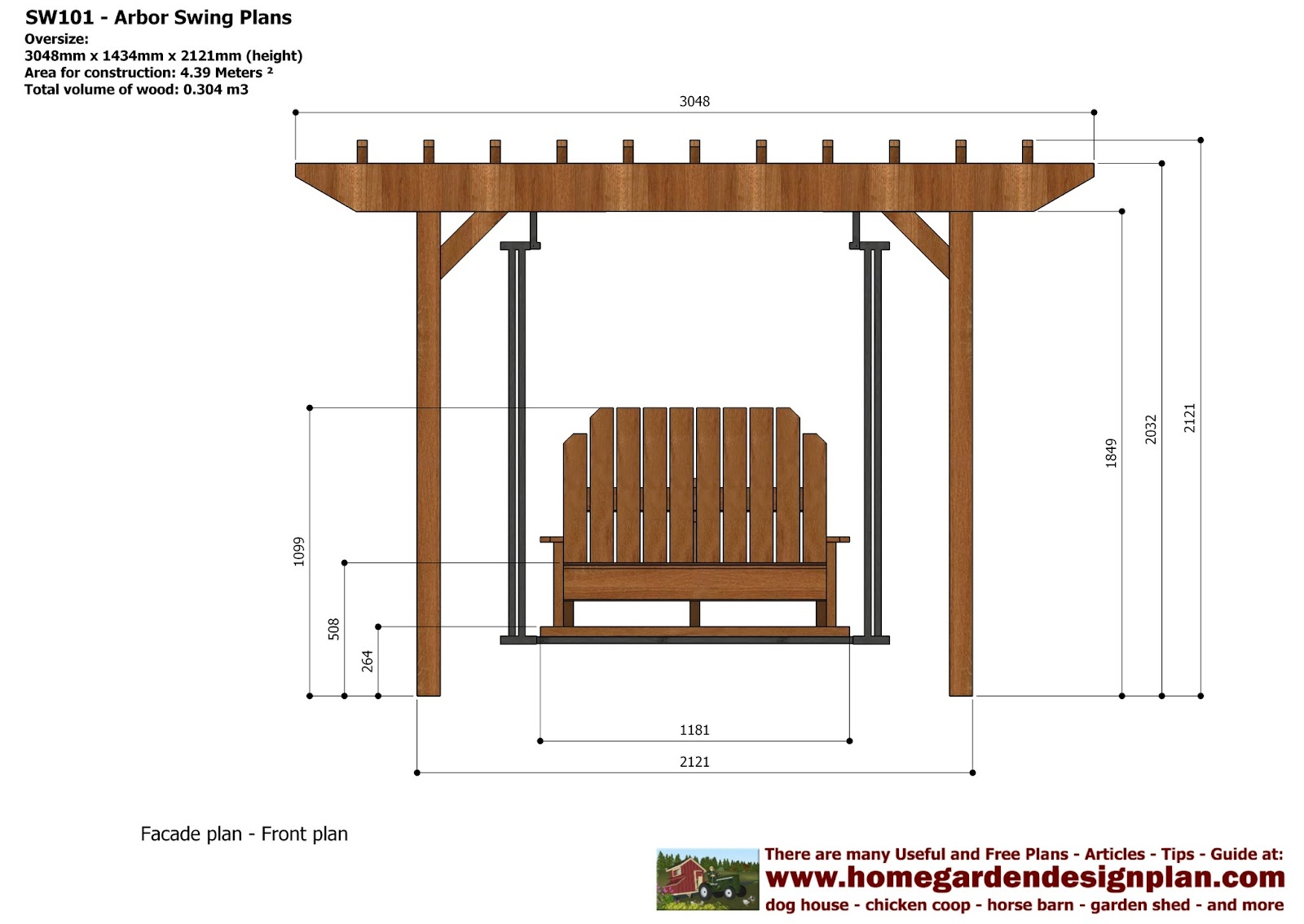 Crafters Download Garden Arbor Construction Plans