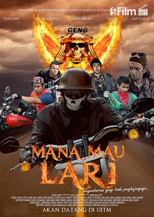 Mana Mau Lari 2015 poster