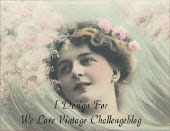 We Love  Vintage Challeng blog