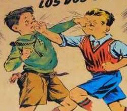 Propaganda do achocolatado Toddy com duas crianças brigando.