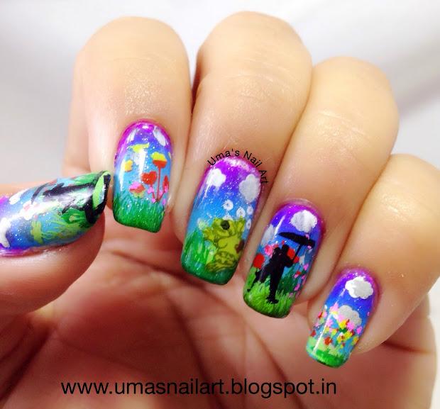 uma's nail art hpb presents april