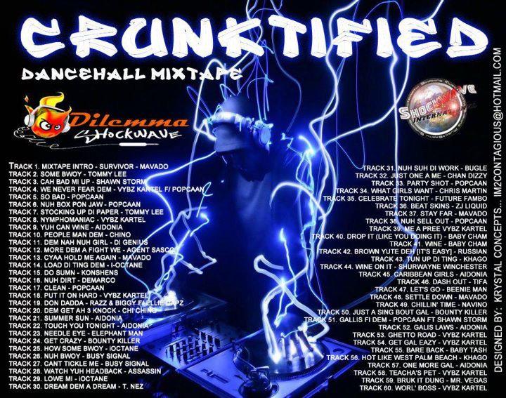Dancehall Hiphop Mixtapes