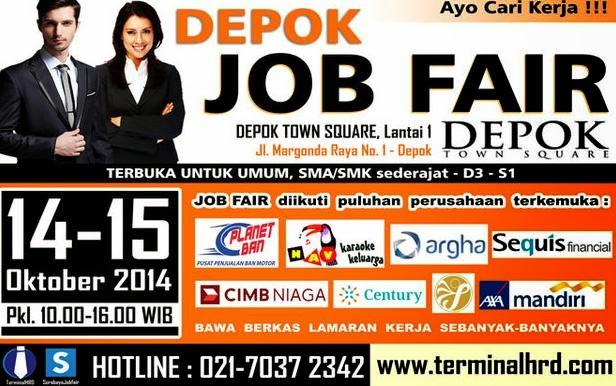 Job Fair Depok Town Square Oktober 2014