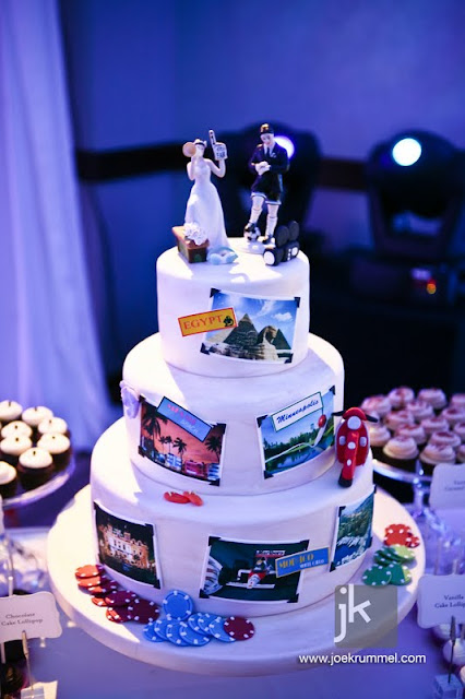Custom Wedding Cake MN