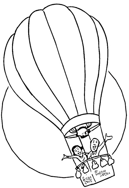 Balloon Coloring Pages4