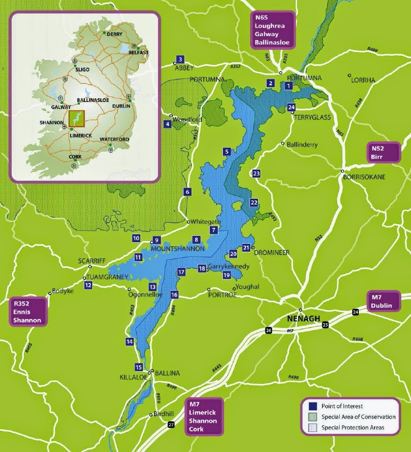 New Trail Showcases Natural Heritage Treasures Of Lough Derg