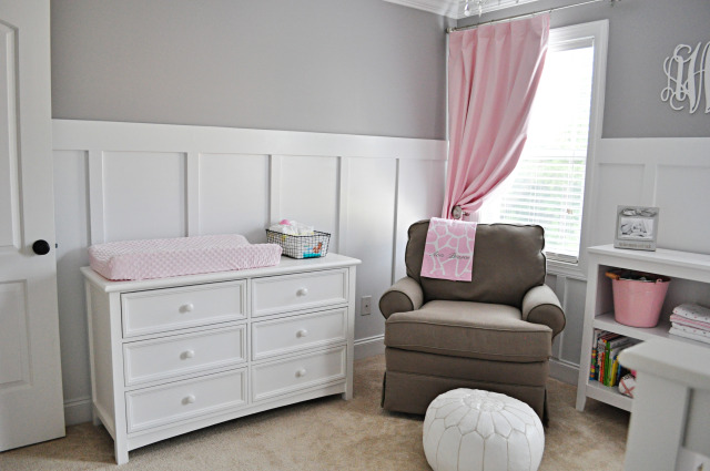Urządzamy pokój dziecięcy - różowo-szare wnętrze dla dziewczynki ...