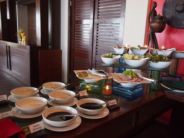 Sheridan Beach Resort buffet