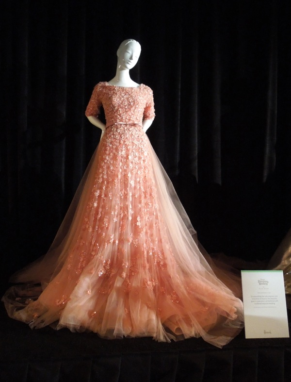 Harrods Once Upon Dream Disney Sleeping Beauty gown