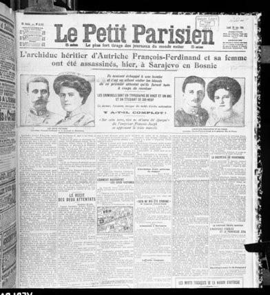 franz ferdinand newspaper articles