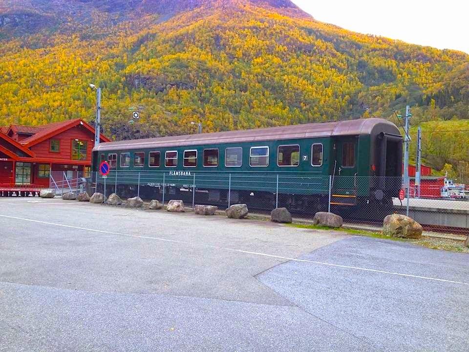 Flåm railway tour