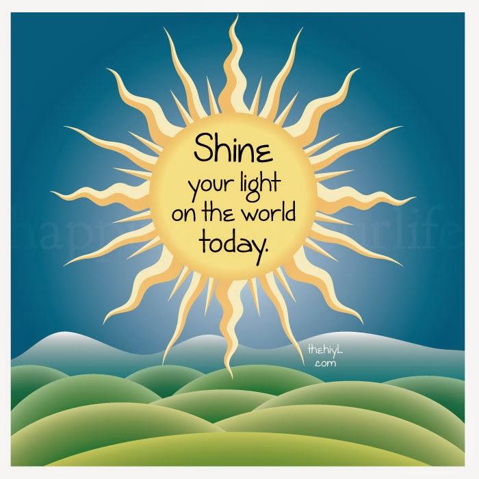 Afbeeldingsresultaat voor shine your light