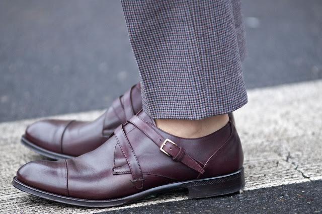 zapatos monkstrap street style