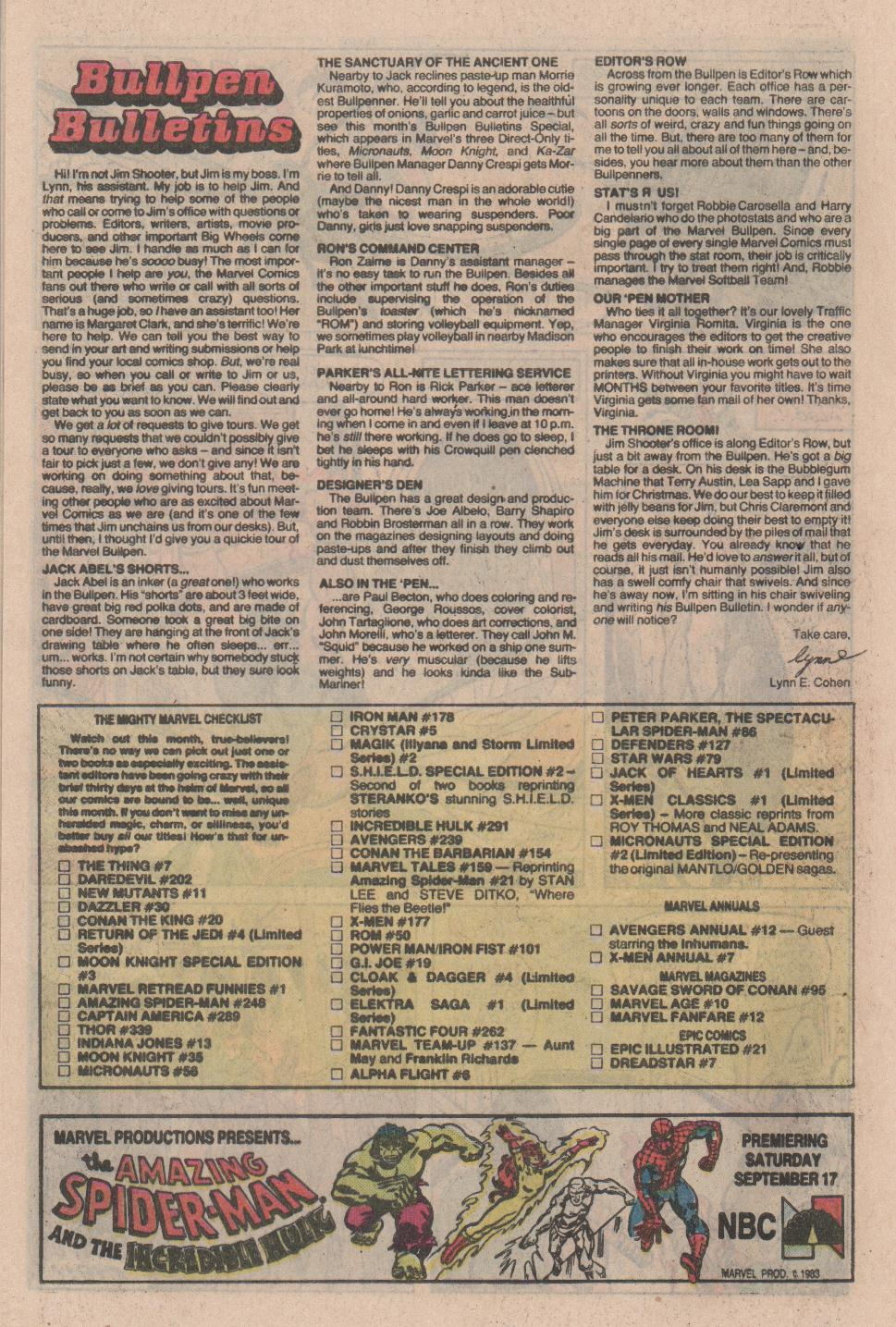 Conan the Barbarian (1970) Issue #154 #166 - English 21