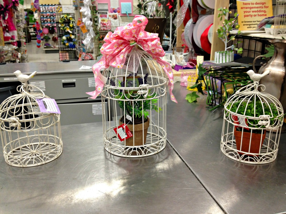 Inspired I Dos Bird Cage Centerpieces