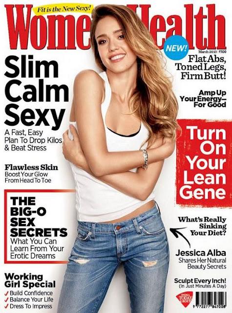 Jessica Alba Women Health