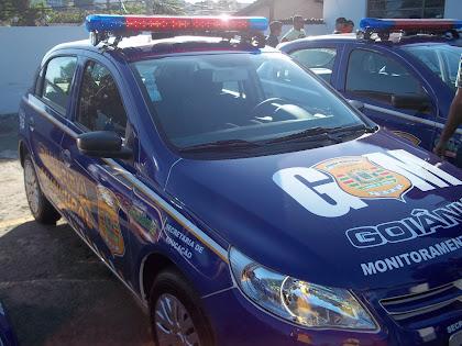 Vtr da GM de Goiânia - GO.