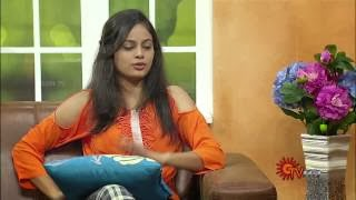 Virundhinar Pakkam – Actress Nanditha – Sun TV Show 06-11-2013