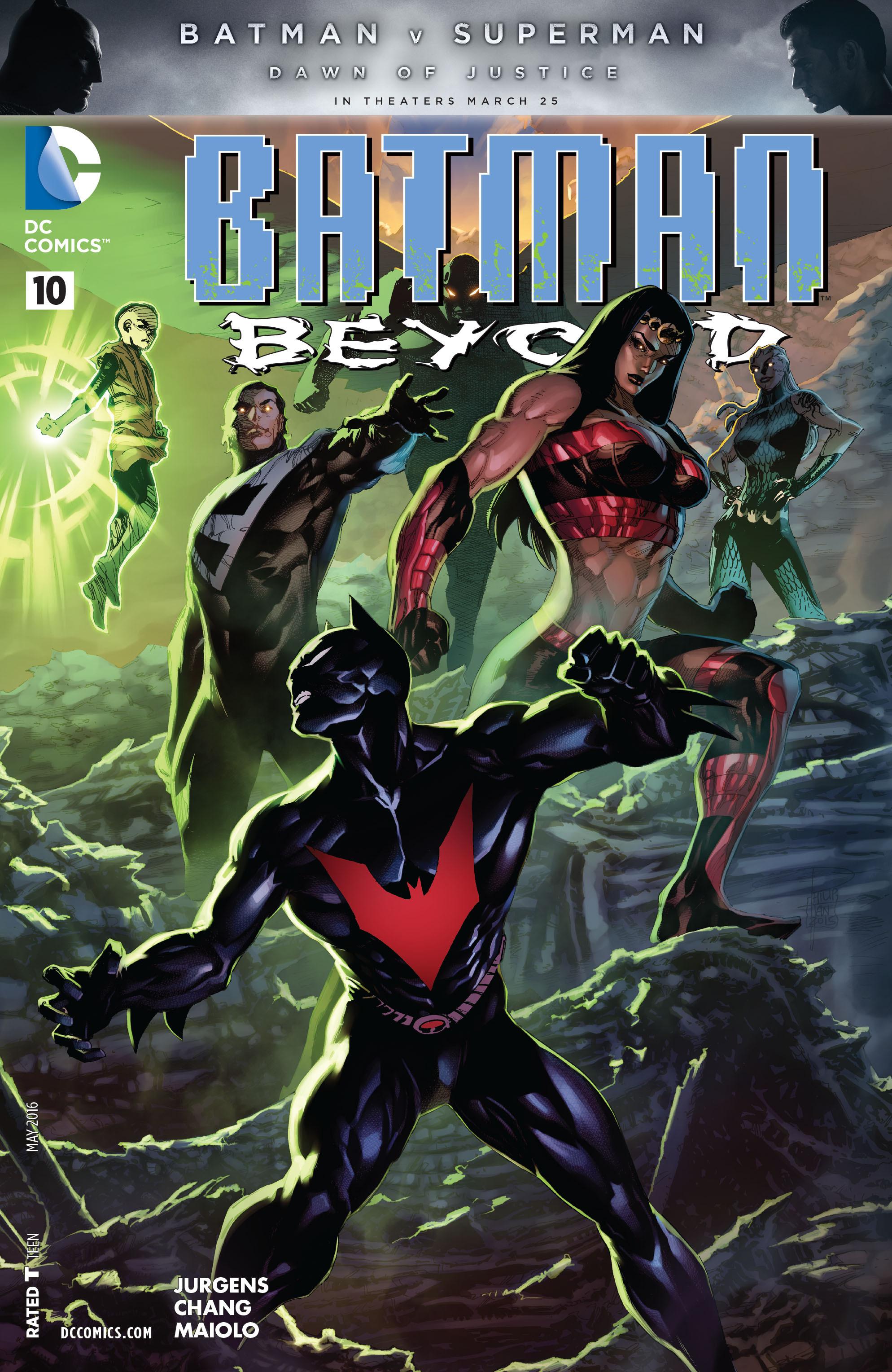 Batman Beyond (2015) Issue #10 #10 - English 1