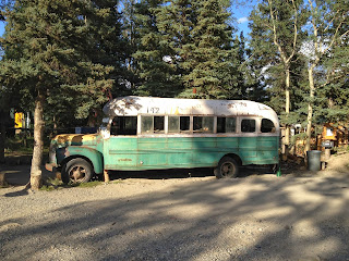 """Into The Wild"" bus in Alaska"