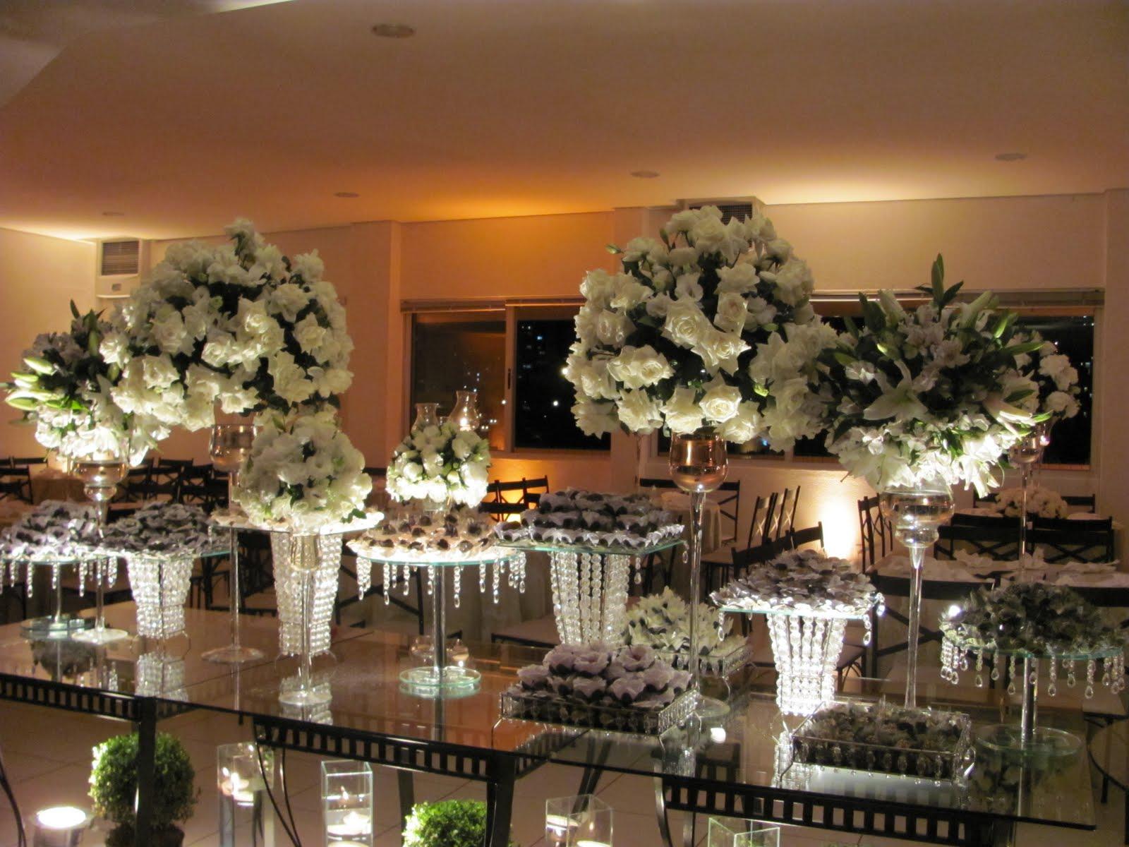 decoracao branca casamento:Recanto das Flores: Decoração casamento Atrium recepções