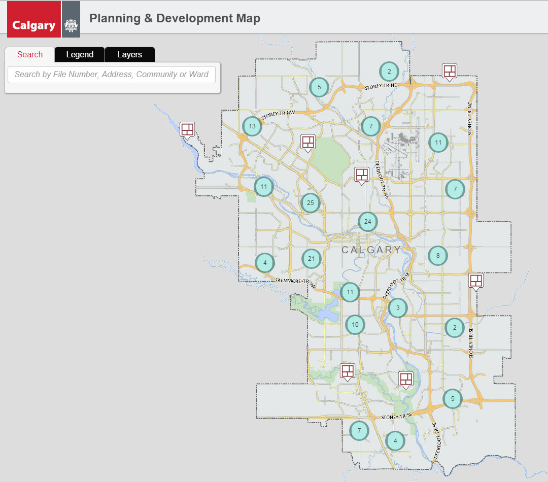 Calgary City News Blog Planning Development Map is here