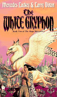 book cover of The White Gryphon by Mercedes Lackey and Larry Dixon