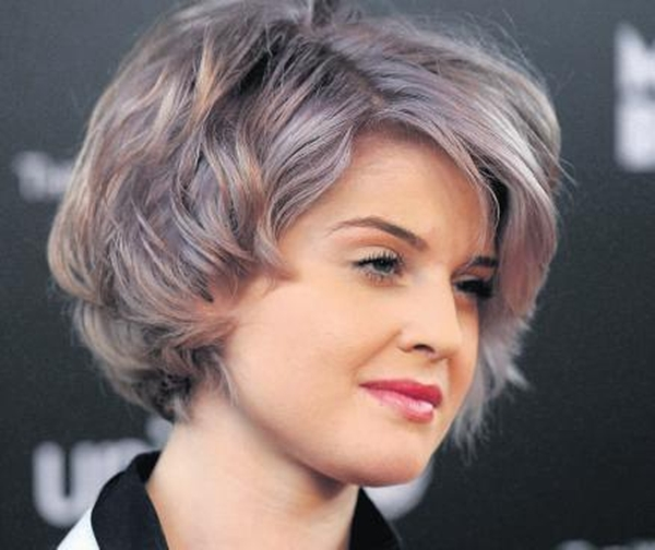 Popular Hair Cuts  Grey Hair Color Trends 2013