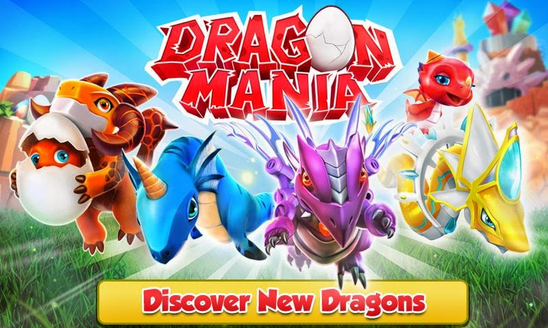 Dragon Mania v3.0.0 MOD APK (Unlimited Golds/Crystals)