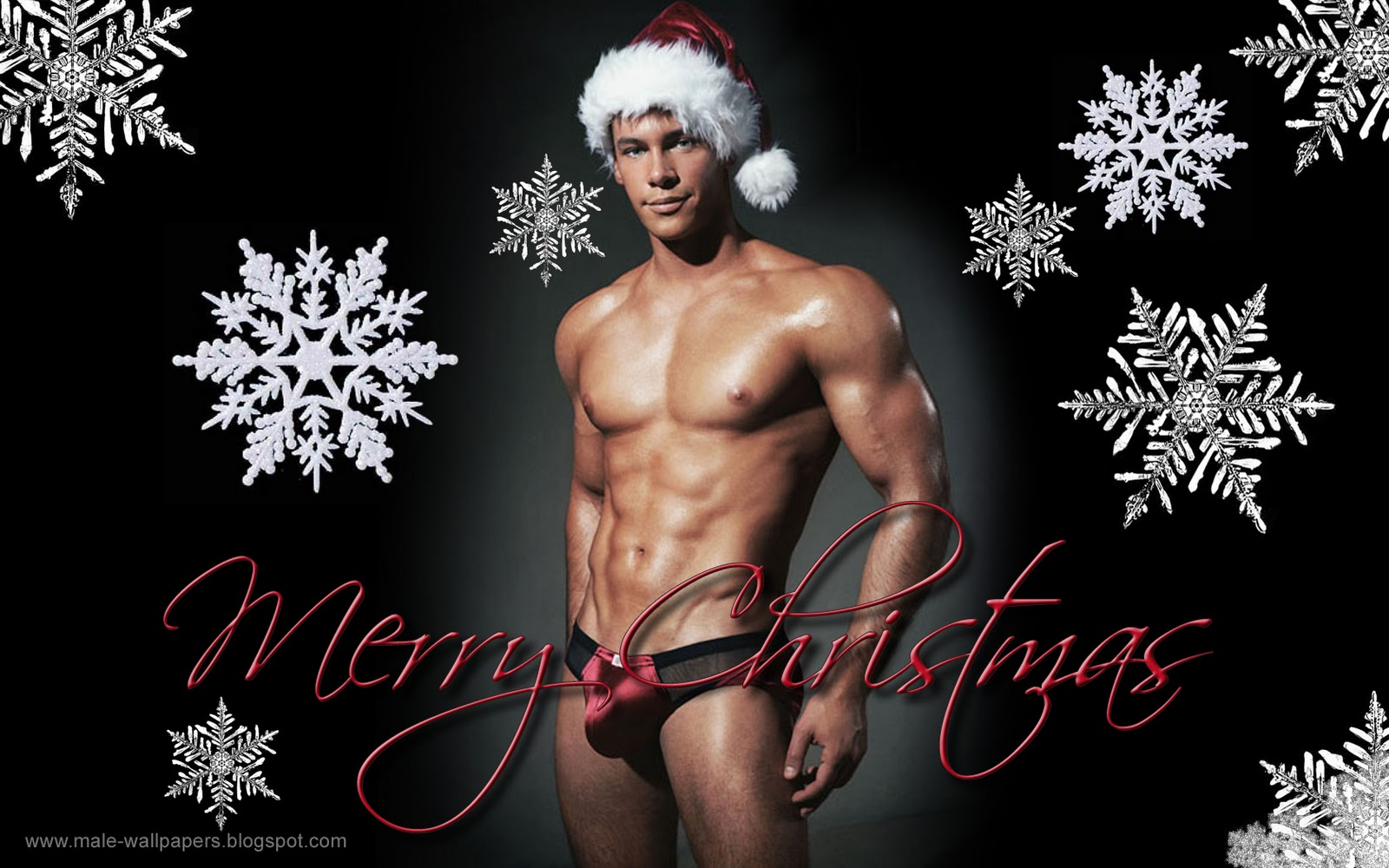 Apologise, but, Christmas nude males consider, that