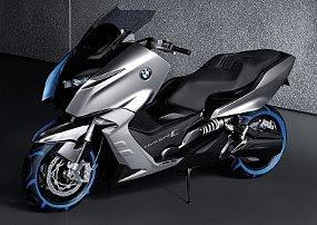 Motor Skuter Terbaru BMW C scooter 2012